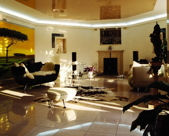 for African inspired living room ideas